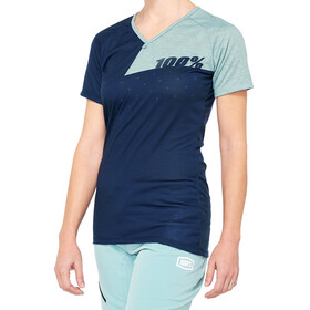 100% Airmatic Jersey Dames, blauw/turquoise